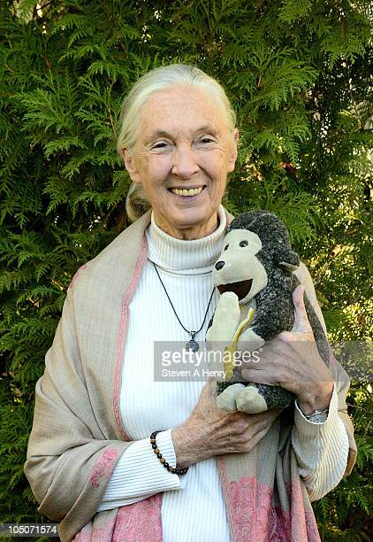 Dr Jane Goodall attends a press conference during the 18th Annual Hamptons International Film Festival at c/o The Maidstone on October 8 2010 in East...