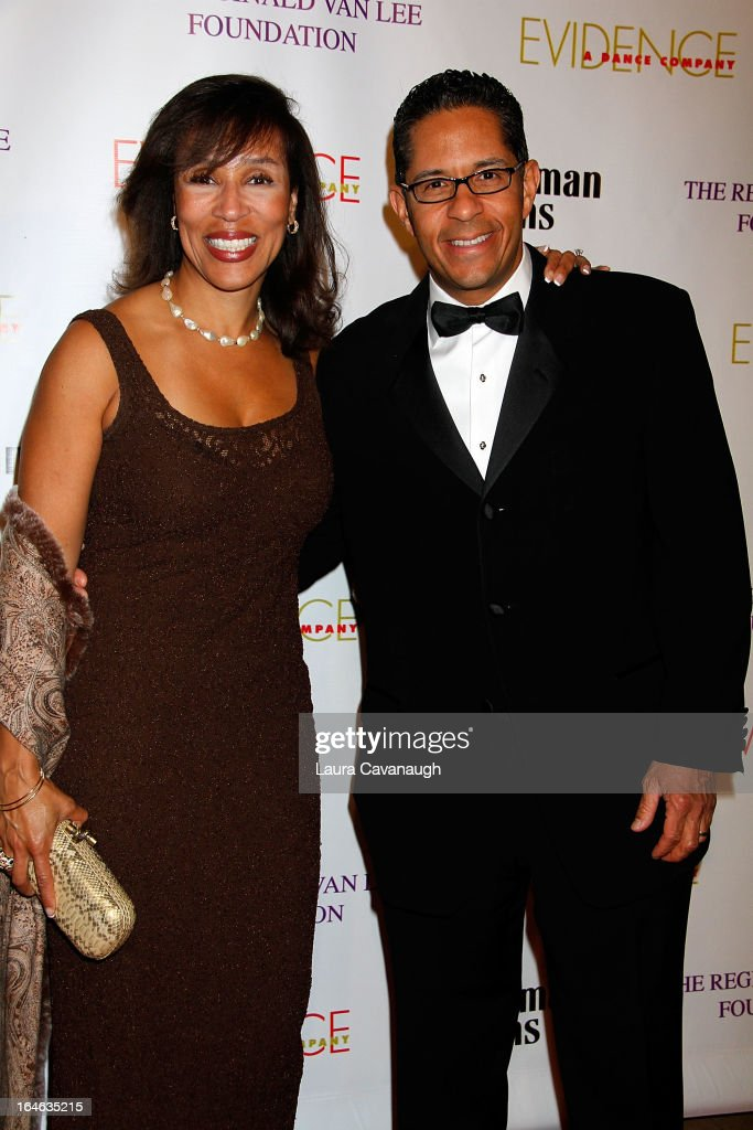 Dr. Jeanine Downie and Michael Heningburg attend the Evidence, A Dance Company 9th annual Torch Ball at The Plaza Hotel on March 25, 2013 in New York City.