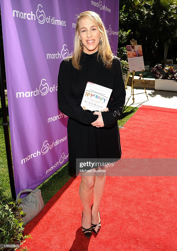 Dr. Jenn Berman attends the March of Dimes Foundation & Samantha Harris Host 5th Annual Celebration of Babies Luncheon held at the Four Season Hotel Beverly Hills on November 13, 2010 in Beverly Hills, California.