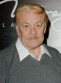 Dr Jerry Buss during The 3rd Annual Lakers Casino Night Arrivals at Barker Hangar in Santa Monica California United States