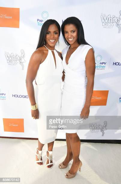 Dr Jessica Shepherd and actress Renee Elise Goldsberry at 'The Immortal Life Of Henrietta Lacks' Viewing Panel Discussion with Renee Elise Goldsberry...