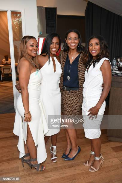Dr Jessica Shepherd Nina Howard and Dr Jackie Walters at 'The Immortal Life Of Henrietta Lacks' Viewing Panel Discussion with Renee Elise Goldsberry...