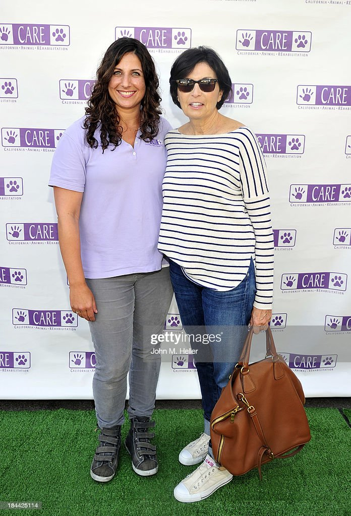 Dr. Jessica waldman, VMD and writer Marilyn Katzenberg attend the grand opening of the California Animal Rehabilitation Center on October 13, 2013 in Los Angeles, California.