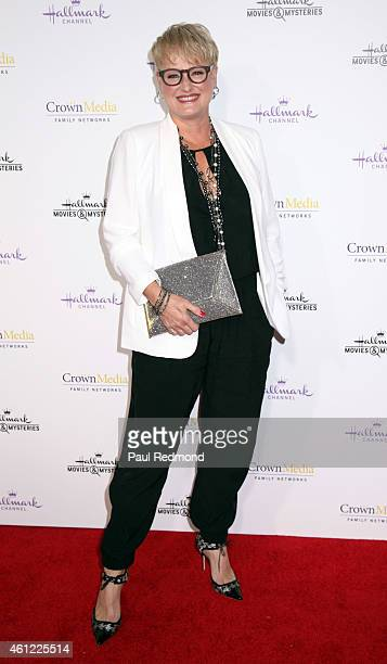 Dr JJ Levenstein attends the 2015 Television Critics Association Press Tour Hallmark Channel and Hallmark Movies Mysteries at Tournament House on...