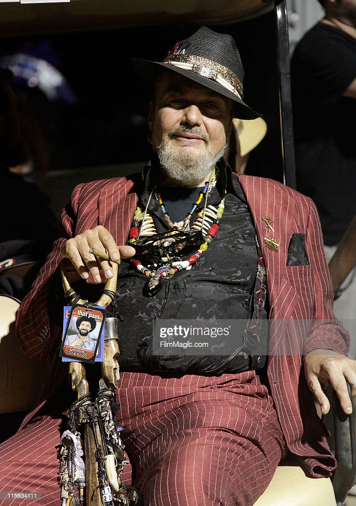 Dr. John backstage during Bonnaroo 2011 on June 11, 2011 in Manchester, Tennessee.