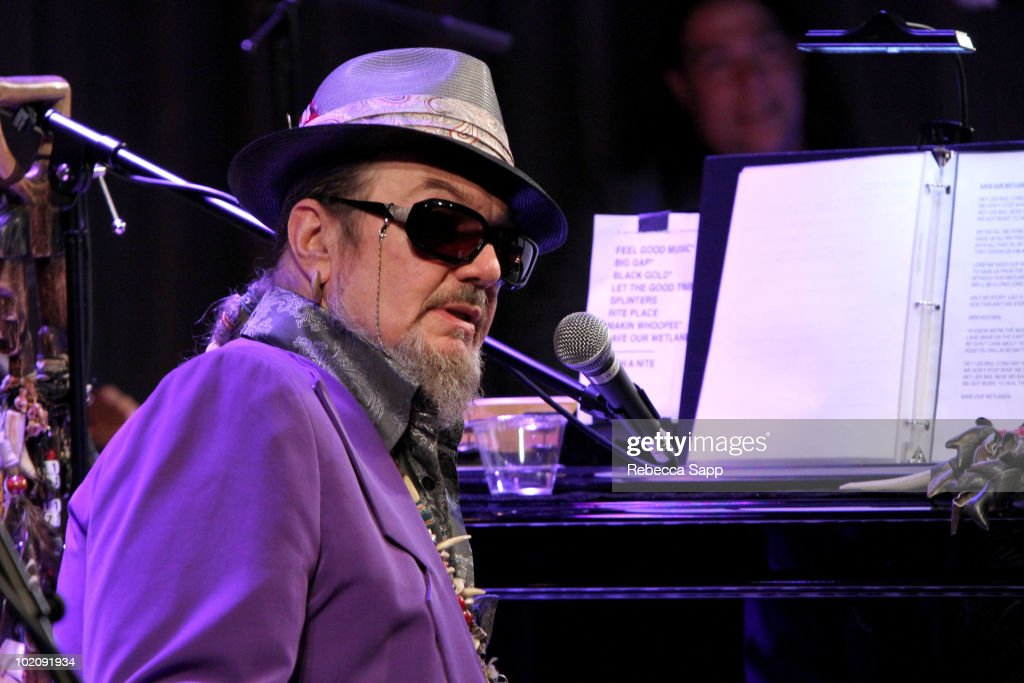 Dr. John performs at An Evening With Dr. John at The GRAMMY Museum on June 14, 2010 in Los Angeles, California.
