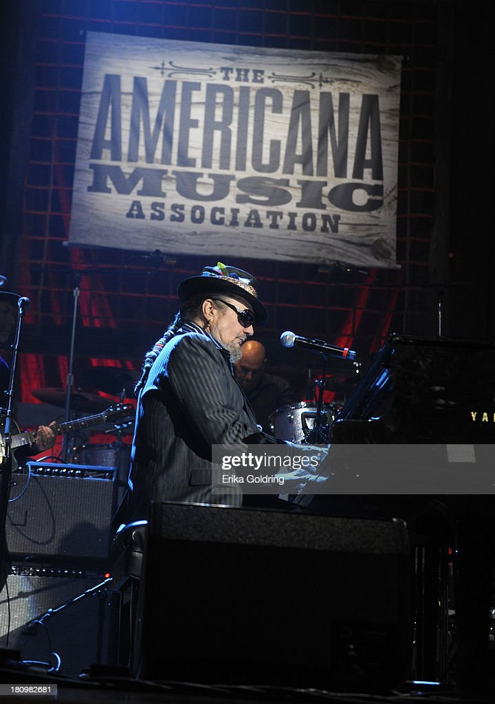 <a gi-track='captionPersonalityLinkClicked' href=/galleries/search?phrase=Dr.+John+-+Musician&family=editorial&specificpeople=4012792 ng-click='$event.stopPropagation()'>Dr. John</a> performs at the 12th Annual Americana Music Honors And Awards Ceremony Presented By Nissan on September 18, 2013 in Nashville, Tennessee.