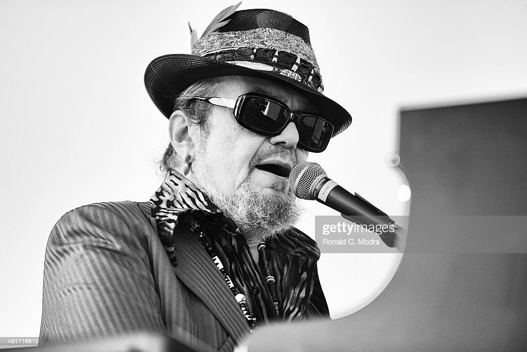 Dr. John performs at the Mighty Mississippi Music Festival on October 5, 2014 in Greenville, Mississippi.
