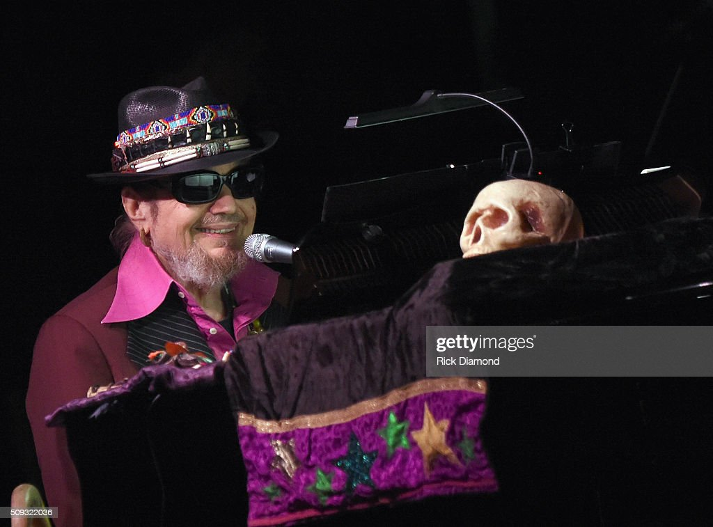 Dr. John Mardi Gras Celebration