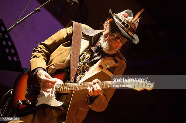 Dr John performs on stage at Colston Hall on March 8 2015 in Bristol United Kingdom