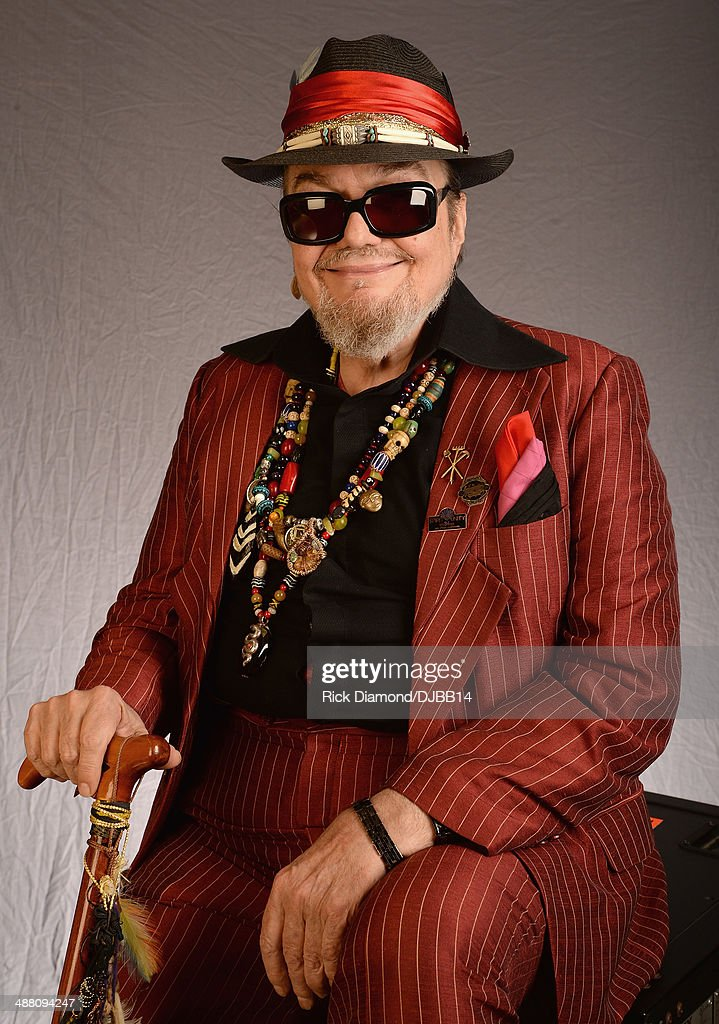 Dr. John poses for a photo prior to The Musical Mojo of Dr. John: A Celebration of Mac & His Music at the Saenger Theatre on May 3, 2014 in New Orleans, Louisiana.