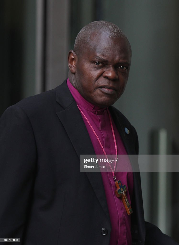 Dr <a gi-track='captionPersonalityLinkClicked' href=/galleries/search?phrase=John+Sentamu&family=editorial&specificpeople=623109 ng-click='$event.stopPropagation()'>John Sentamu</a> sighting at the BBC studios on December 21, 2014 in London, England.