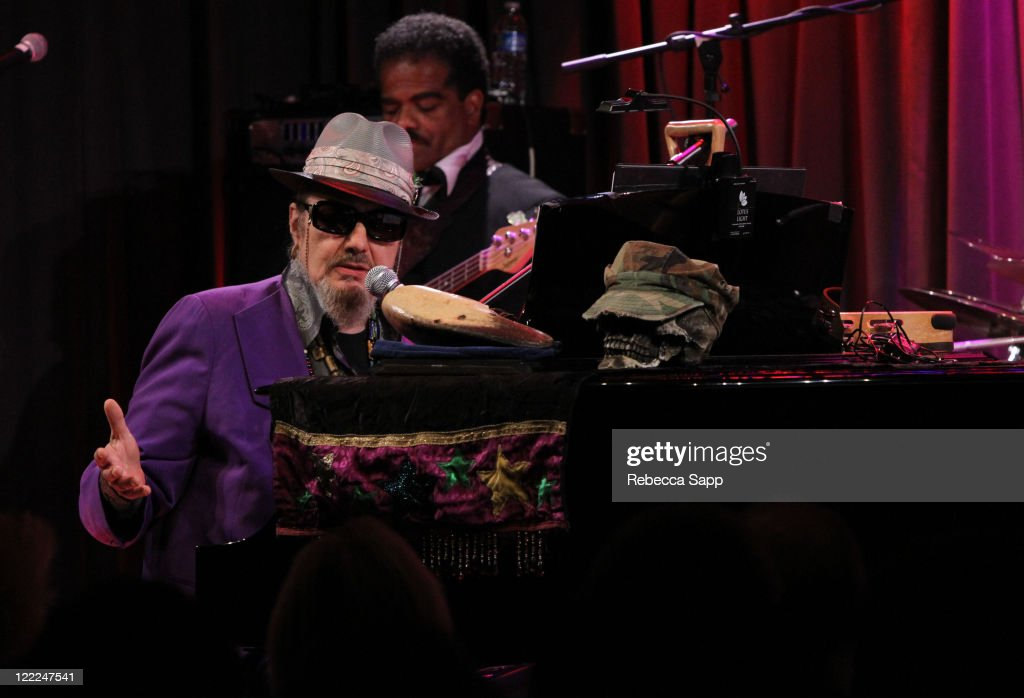 Dr. John speaks onstage at An Evening With Dr. John at The GRAMMY Museum on June 14, 2010 in Los Angeles, California.