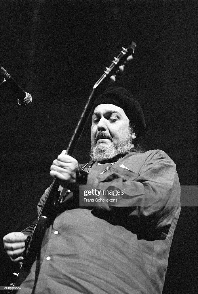 Dr John (Mac Rebennack), vocal-guitar-piano, performs at the Paradiso on 2nd May 1994 in Amsterdam, Netherlands.