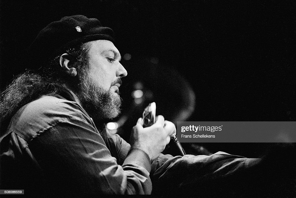 Dr John (Mac Rebennack), vocal-guitar-piano, performs at the Paradiso on 2nd May 1994 in Amsterdam, Netherlands.
