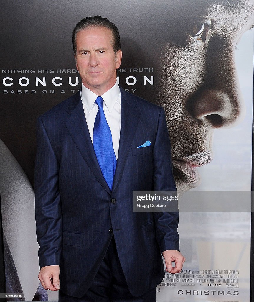 Dr Julian Bailes, Chairman of the Department of Neurosurgery and Co- Director of the NorthShore Neurological Institute, arrives at the AFI FEST 2015 Presented By Audi Centerpiece Gala Premiere of Columbia Pictures' 'Concussion' at TCL Chinese Theatre on November 10, 2015 in Hollywood, California.