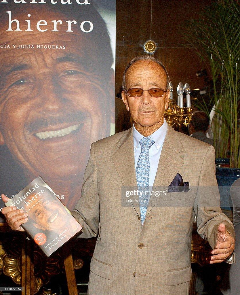 "Dr. Julio Iglesias Puga Launches his Autobiography ""Voluntad de Hierro"""