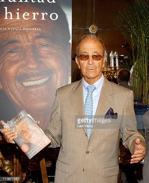 Dr Julio Iglesias Puga during Dr Julio Iglesias Puga Launches his Autobiography 'Voluntad de Hierro' at Ritz Hotel in Madrid Spain