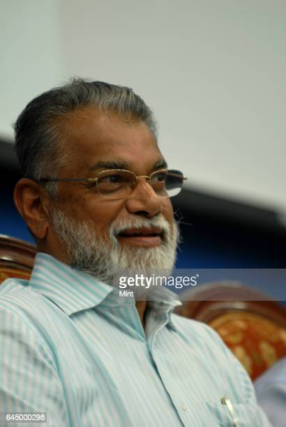 Dr K Radhakrishnan ISRO Chairman poses during a profile shoot on January 27 2010 in Bangalore India