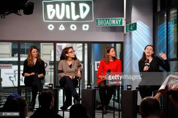 Dr Kate Biberdorf Nicole Hernandez Hammer Tiernan Sittenfeld and Dr Caroline Weinberg attend the Build series smart girls panel at Build Studio on...