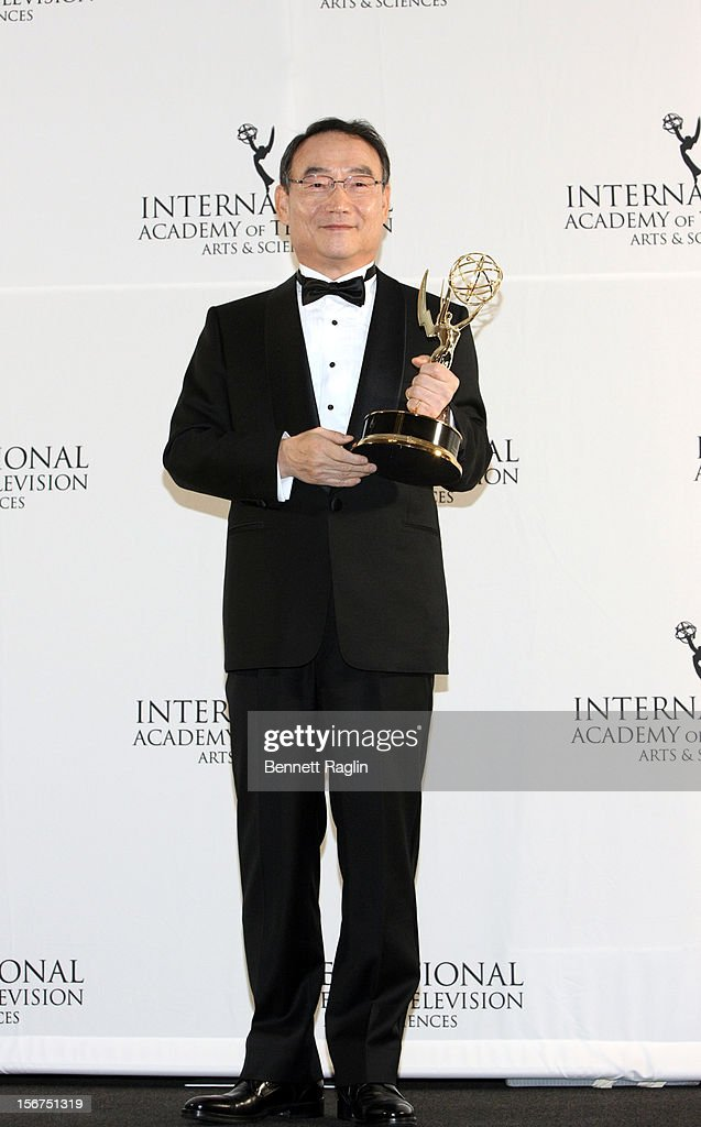 Dr. Kim In-Kyu attends the 40th Annual International Emmy Awards at the Hilton New York on November 19, 2012 in New York City.
