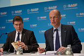 Dr Kurt Bock Chairman of the Board of Executive Directors of BASF SE and Dr HansUlrich Engel Chief Financial Officer of BASF at the Annual Press...