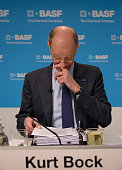 Dr Kurt Bock Chairman of the Board of Executive Directors of BASF SE at the Annual Press Conference in Ludwigshafen Germany 25 February 2014 BASF the...