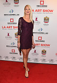 Dr Laura Ellis arrives to the LA Art Show 2015 Opening Night Premiere Party at the Los Angeles Convention Center on January 14 2015 in Los Angeles...
