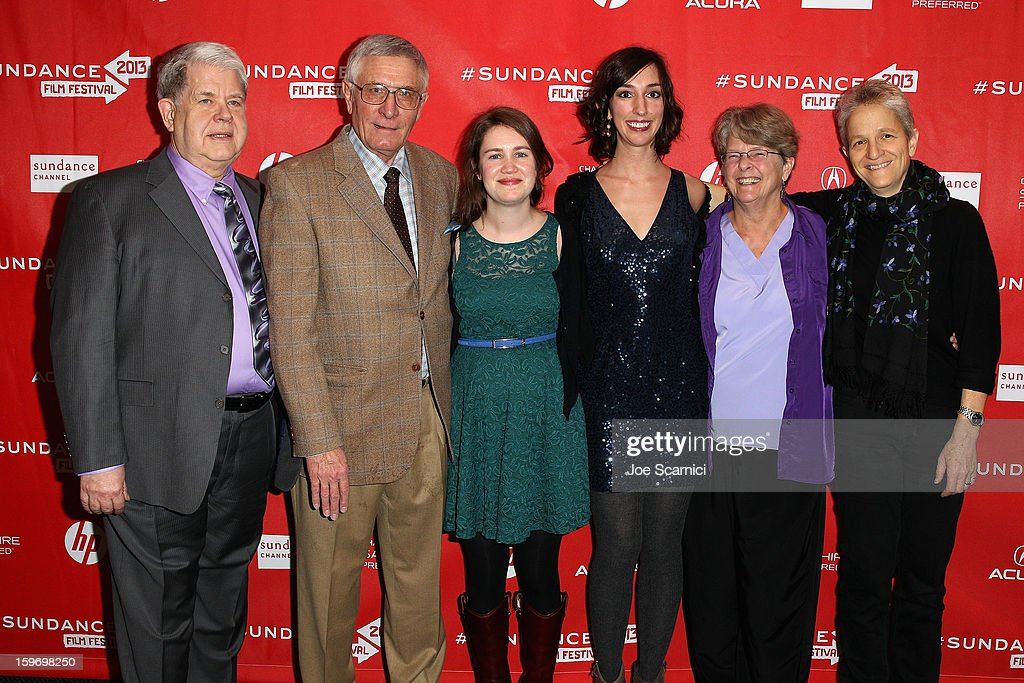 Dr. LeRoy Carhart, Dr. Warren Hern, filmmaker Martha Shane, filmmaker Lana Wilson, Dr. Susan Robinson and Dr. Shelley Sella attends the 'After Tiller' premiere at Temple Theater during the 2013 Sundance Film Festival on January 18, 2013 in Park City, Utah.