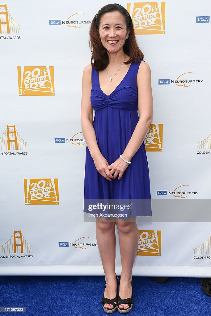 Dr. Linda Liau attends the 2nd annual Golden Portal Awards benefiting The UCLA Brain Tumor Program on June 23, 2013 in Beverly Hills, California.