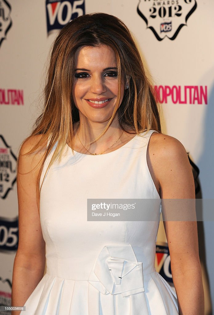 Dr Linda Papadopoulos attends the Cosmopolitan Ultimate Woman of the Year awards at Victoria & Albert Museum on October 30, 2012 in London, England.