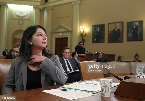 Dr Mandy Cohen COO and chief of staff of the Centers for Medicare and Medicaid attends a��House Ways and Means Committee hearing on Capitol Hill...