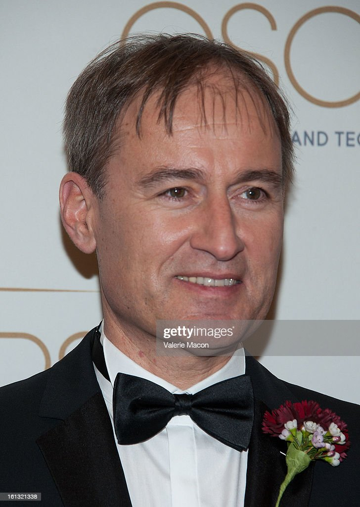Dr Markus Gross arrives at the Academy Of Motion Picture Arts And Sciences' Scientific & Technical Awards at Beverly Hills Hotel on February 9, 2013 in Beverly Hills, California.