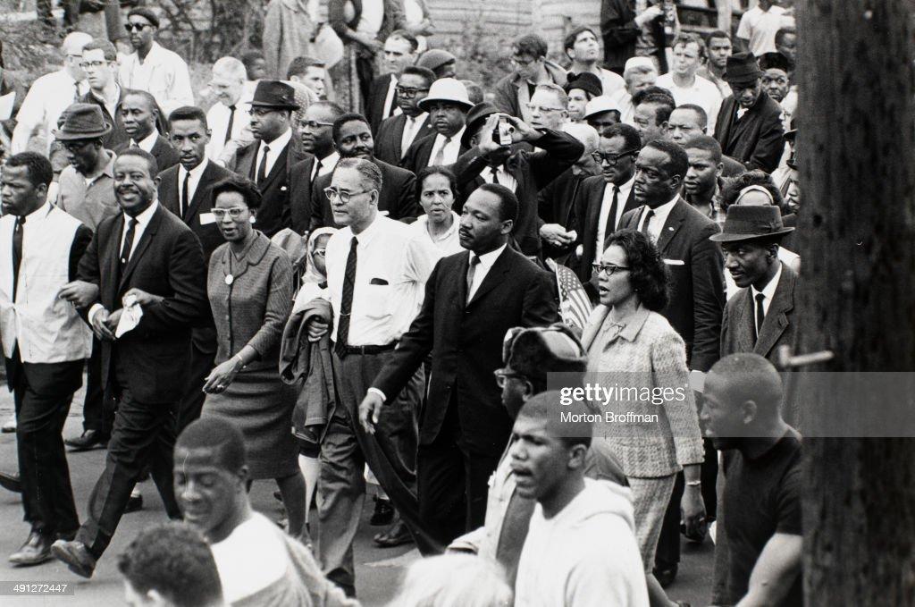 Ralph Abernathy And Martin Luther King Jr