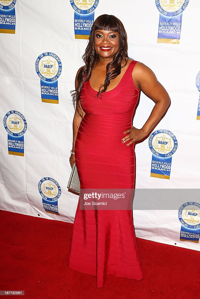 Dr. Maxine Anderson arrives at the 23rd annual NAACP Theatre Awards at Saban Theatre on November 11, 2013 in Beverly Hills, California.