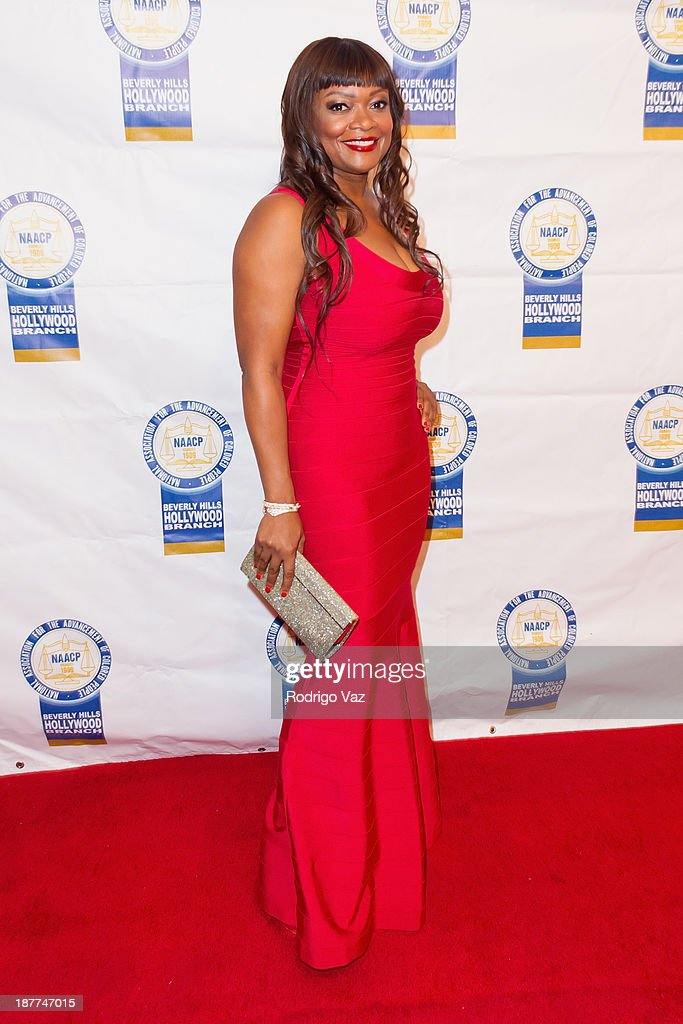 Dr. Maxine Anderson attends the 23rd Annual NAACP Theatre Awards at Saban Theatre on November 11, 2013 in Beverly Hills, California.