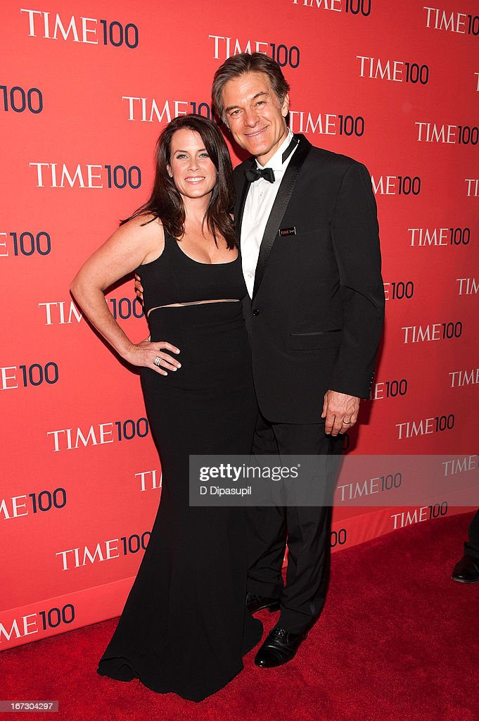 Dr. Mehmet Oz (R) and Lisa Oz attend the 2013 Time 100 Gala at Frederick P. Rose Hall, Jazz at Lincoln Center on April 23, 2013 in New York City.