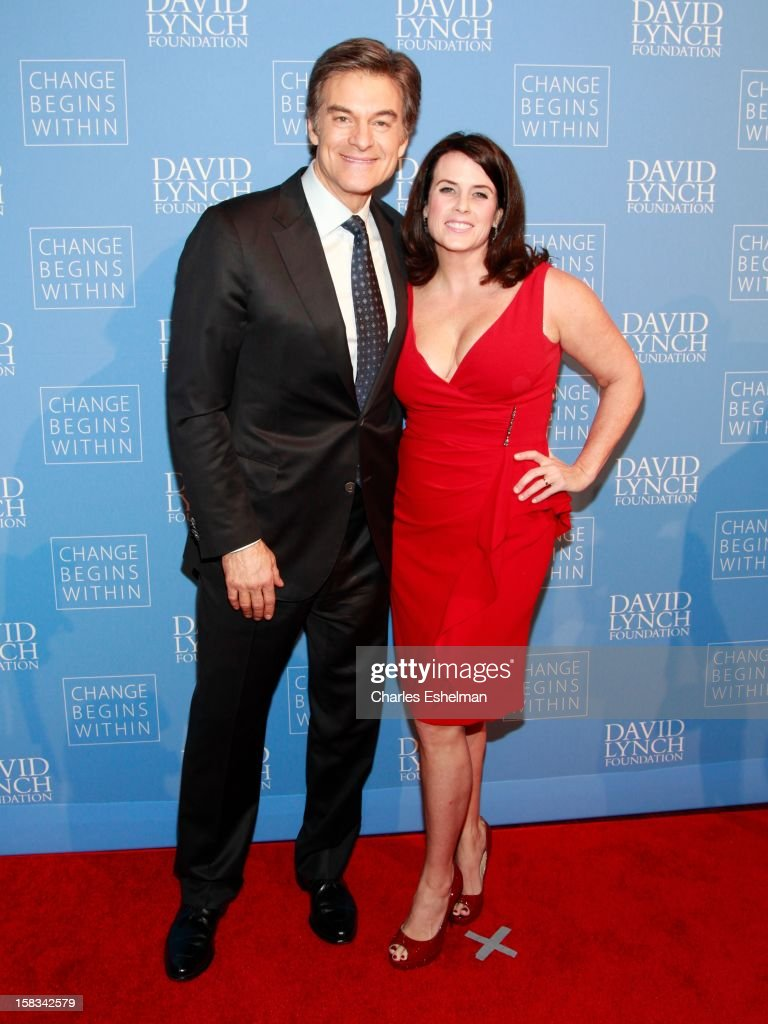 Dr. Mehmet Oz and Lisa Oz attend the David Lynch Foundation hosts 'An Intimate Night Of Jazz' at Frederick P. Rose Hall, Jazz at Lincoln Center on December 13, 2012 in New York City.