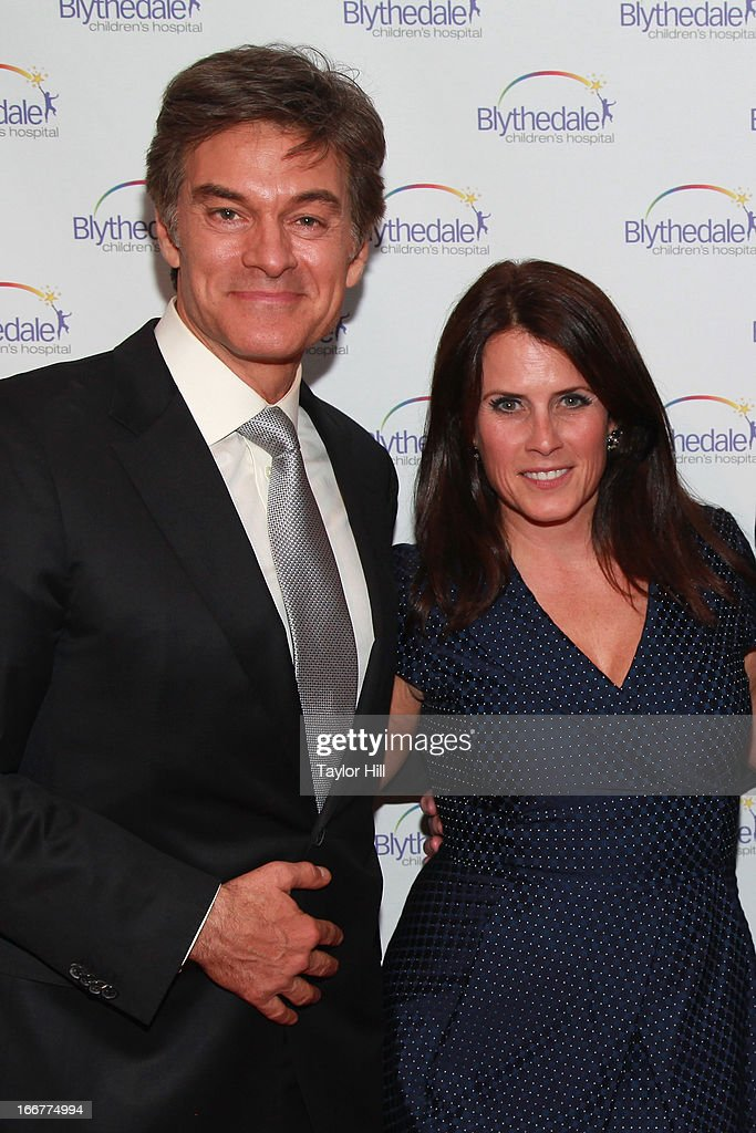 Dr. <a gi-track='captionPersonalityLinkClicked' href=/galleries/search?phrase=Mehmet+Oz&family=editorial&specificpeople=4175862 ng-click='$event.stopPropagation()'>Mehmet Oz</a> and producer Lisa Oz attend the Blythedale Children's Hospital's 6th annual Spring Fundraiser at The Lighthouse at Chelsea Piers on April 16, 2013 in New York City.