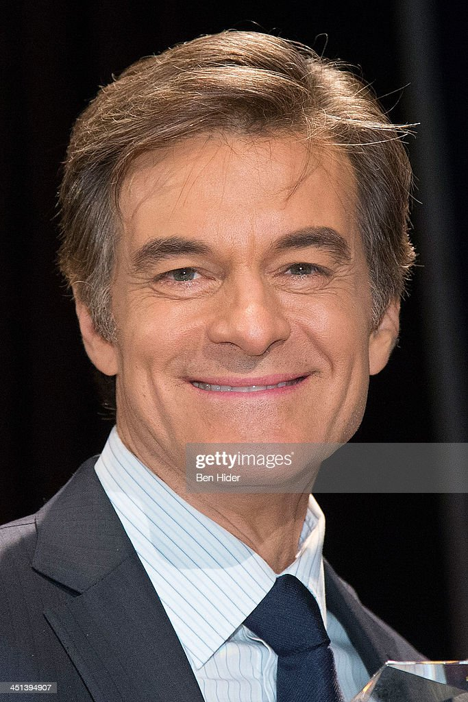 Dr. Mehmet Oz attends 2013 Federal Law Enforcement Foundation Luncheon at The Waldorf=Astoria on November 22, 2013 in New York City.