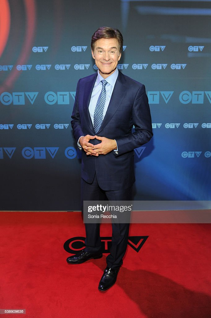 Dr. <a gi-track='captionPersonalityLinkClicked' href=/galleries/search?phrase=Mehmet+Oz&family=editorial&specificpeople=4175862 ng-click='$event.stopPropagation()'>Mehmet Oz</a> attends CTV Upfronts 2016 at Sony Centre for the Performing Arts on June 8, 2016 in Toronto, Canada.