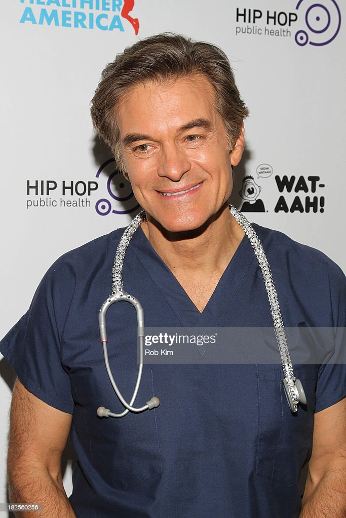 Dr. Mehmet Oz attends the 2013 kick-off event for Songs for a Healthier America at Symphony Space on September 30, 2013 in New York City.