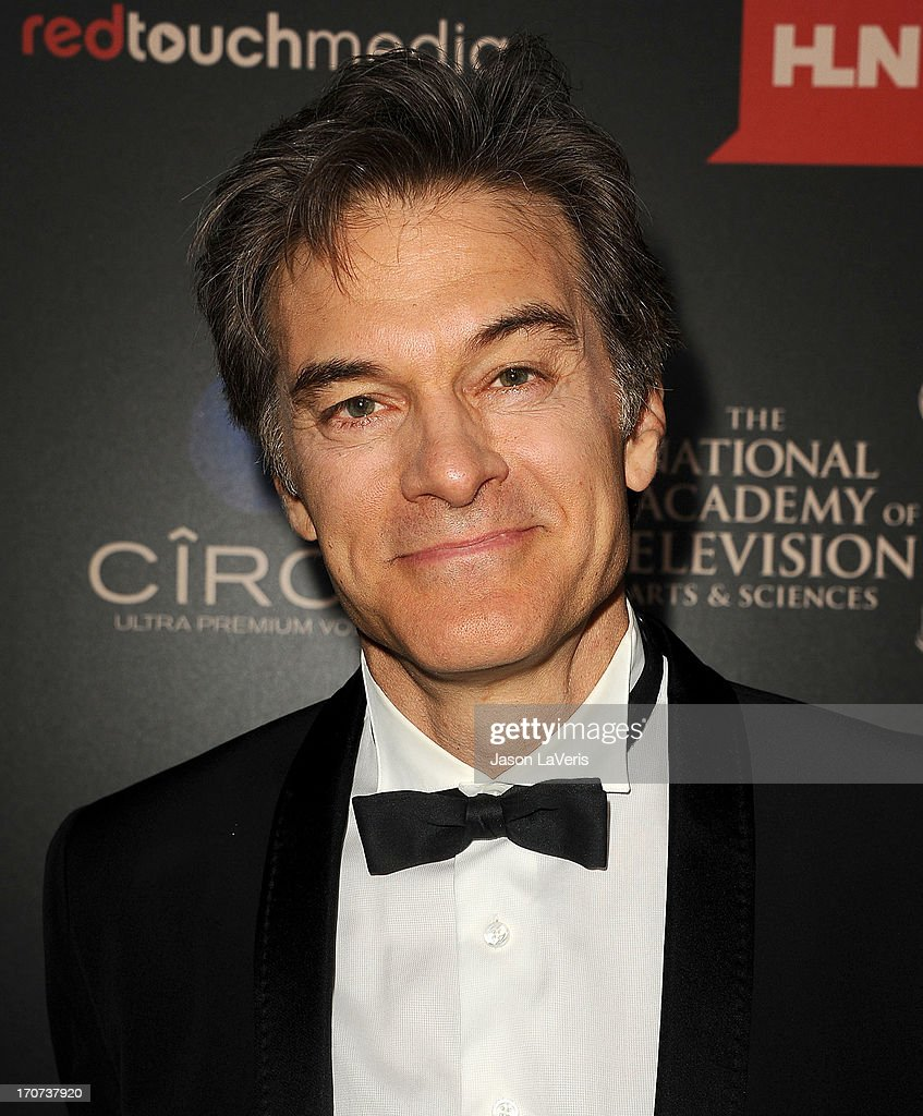 Dr. Mehmet Oz attends the 40th annual Daytime Emmy Awards at The Beverly Hilton Hotel on June 16, 2013 in Beverly Hills, California.