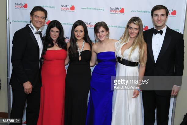 Dr Mehmet Oz Lisa Oz Arabella Oz Zoe Oz Daphne Oz and John Jovanovic attend Dr OZ's HEALTHCORPS Announces Gala to Raise Funds to Fight Child Obesity...