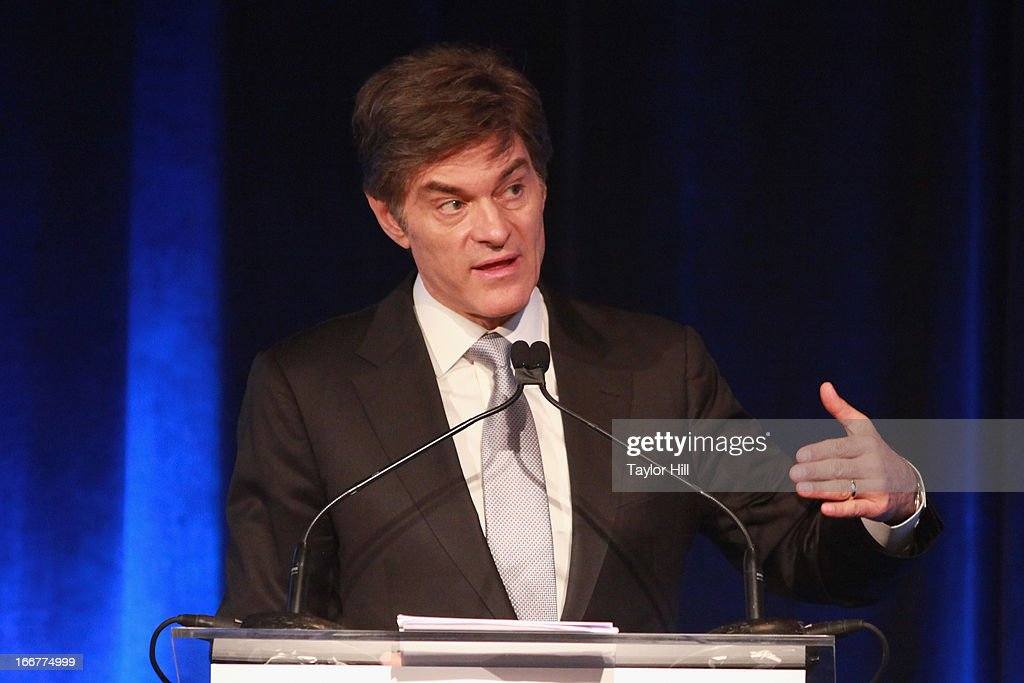 Dr. Mehmet Oz speaks during the Blythedale Children's Hospital's 6th annual Spring Fundraiser at The Lighthouse at Chelsea Piers on April 16, 2013 in New York City.