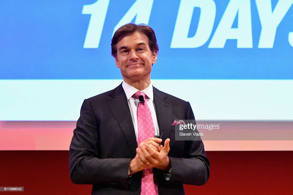 Dr. Mehmet Oz speaks onstage at the Good Health is Good Business panel at The Town Hall during 2016 Advertising Week New York on September 29, 2016 in New York City.