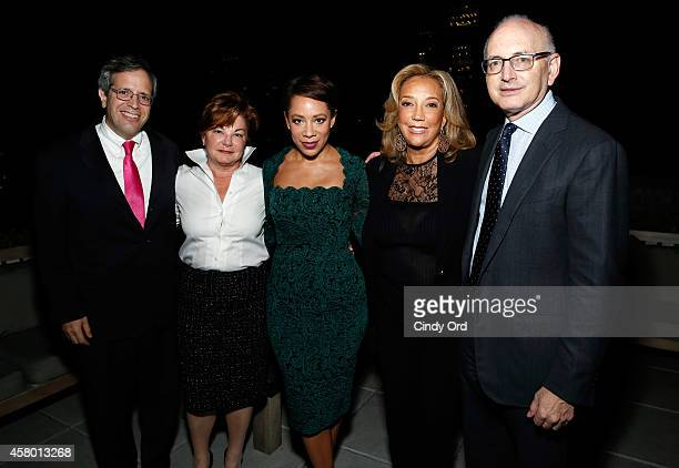 Dr Michael A Caligiuri Dr Cheryl L Willman Selenis Leyva Denise Rich and Dr Stephen D Nimer attend Gabrielle's Angel Foundation for Cancer Research...