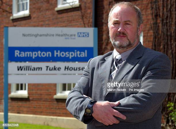 Dr Mike Harris manager of Rampton Hospital Woodbeck Nottinghamshire where 28yearold school caretaker Ian Huntley is undergoing psychiatric assessment...