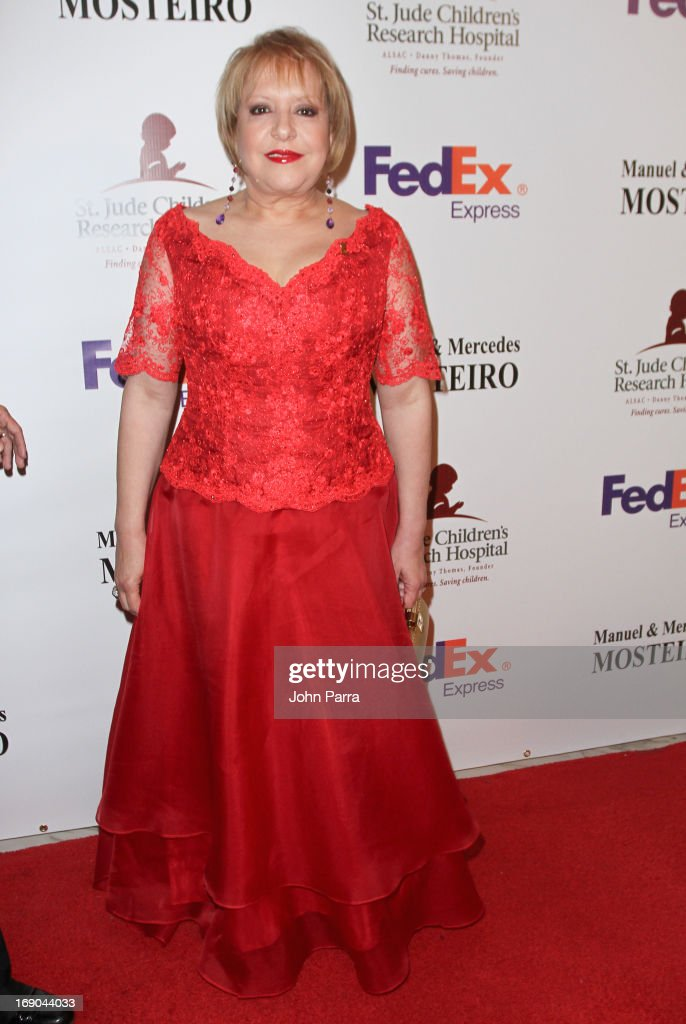 Dr. Nancy Alvarez attends 11th annual FedEx/St. Jude Angels & Stars Gala in Miami at JW Marriott Marquis on May 18, 2013 in Miami, Florida.