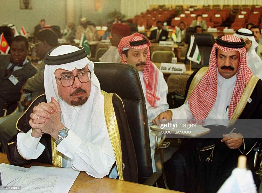 Dr Nizar Madani vice Foreign minister of Saudi Arabia attends the Organization of the Islamic Conference in Ougadougou 29 June 1999 More than 600...